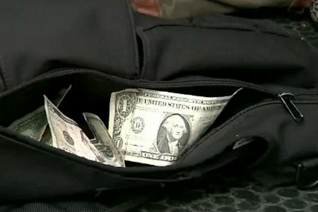 Student brings stash of cash to school