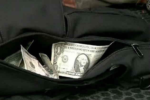 Student brings stash of cash to school