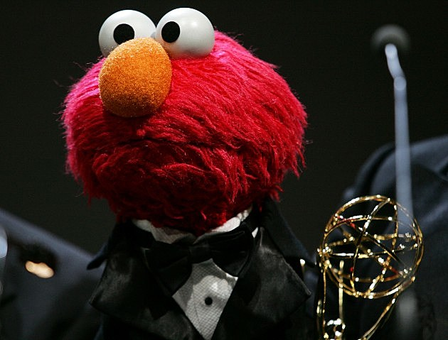 Elmo with Emmy