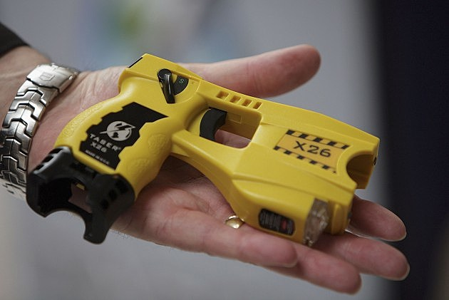 Man uses taser on wife after she loses sports bet
