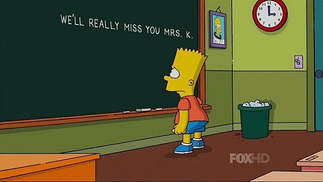 Simpsons pay tribute to Marcia Wallace