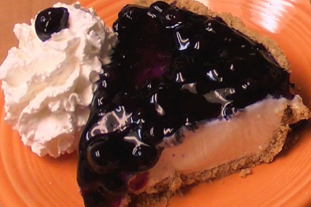 Blueberry Banana Cheesecake