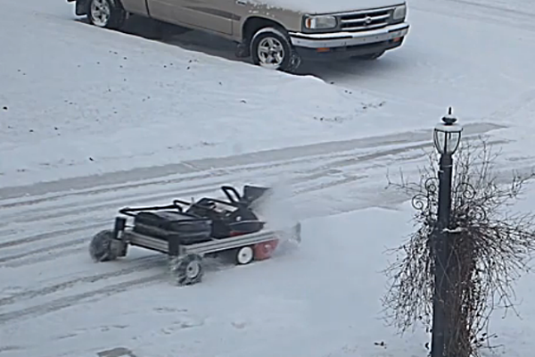 how to build a snow blower