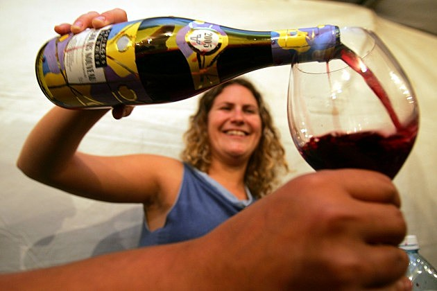 enjoying wine david silverman getty images