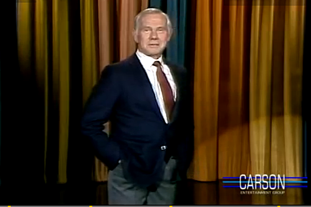 Johnny Carson via YouTube