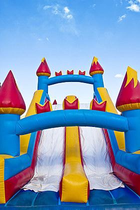 Children's Inflatable Castle Playground