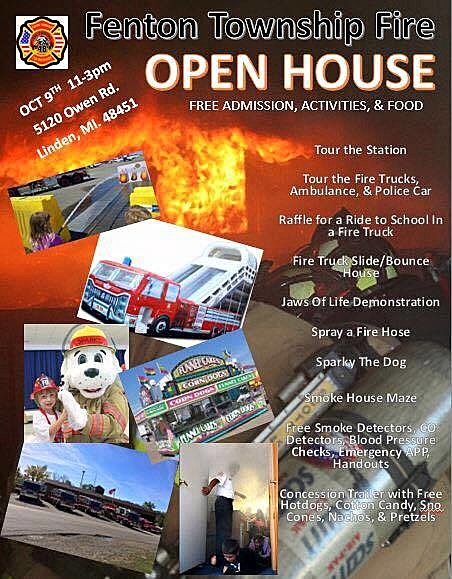 Fenton Township - FD - Open House