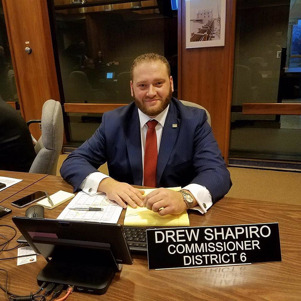 Drew Shapiro Genesee County Commissioner via Facebook