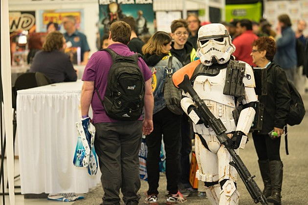 Storm Trooper seen at the New Jersey Comic Expo, Edison, NJ Nov. 2105